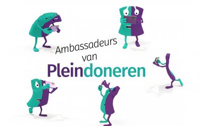 NIEUW op Pleindoneren: het ambassadeursnetwerk